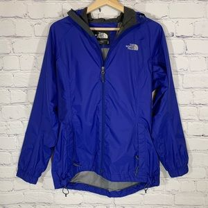 THE NORTH FACE Hyvent Hooded Windbreaker Jacket M